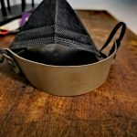 Maskenhalter Oliv
