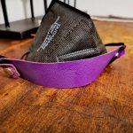 Maskenhalter Violett