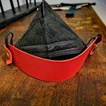 Maskenhalter Rot